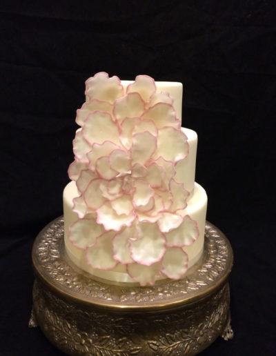 Rose Petal Cake'