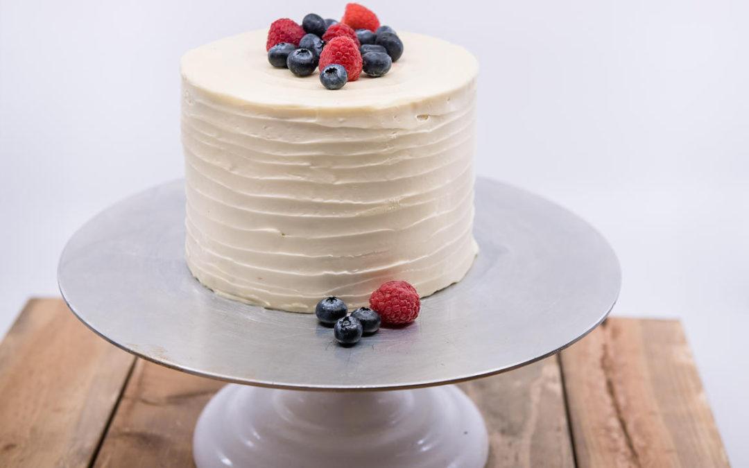 Blue Raspberry Cake