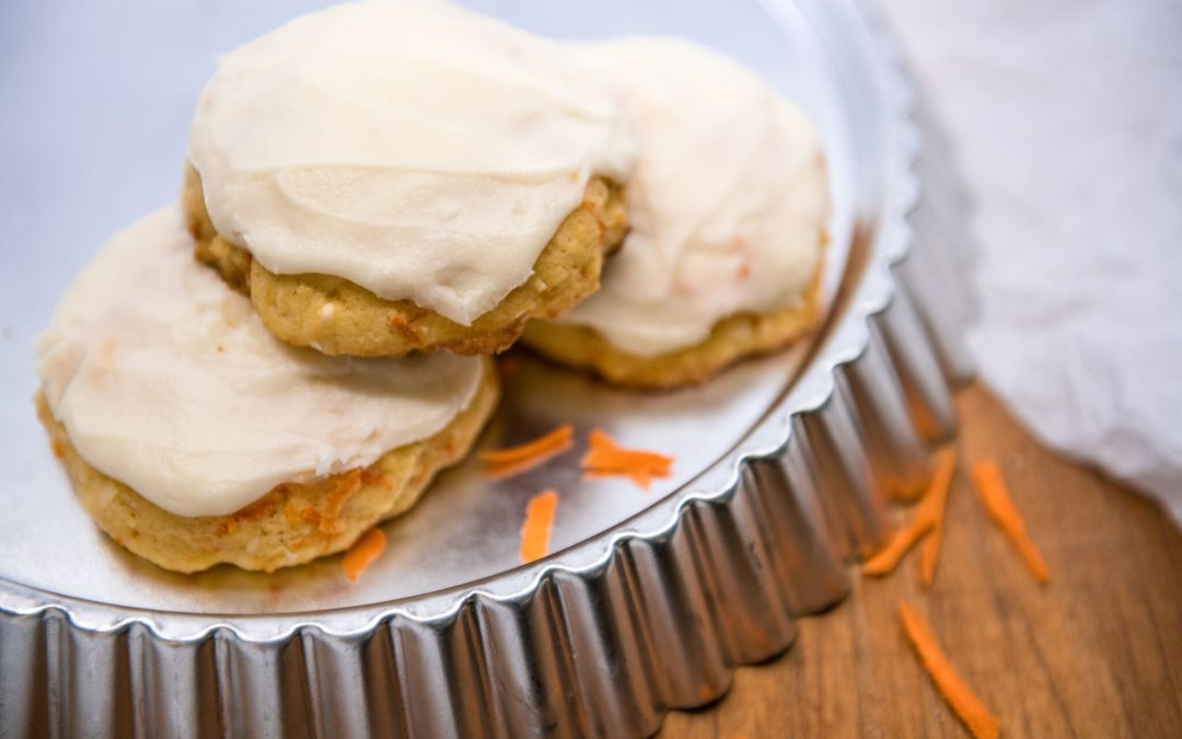 Carrot Coconut Cookies