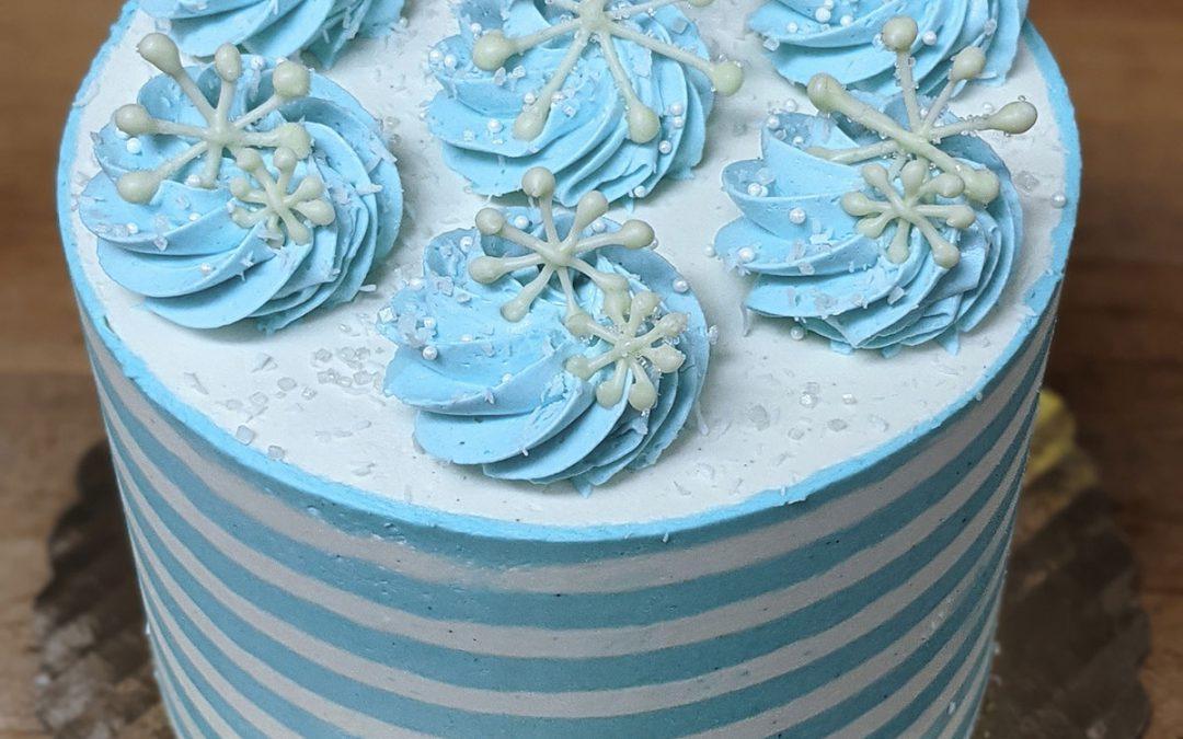 Vanilla Frost Cake